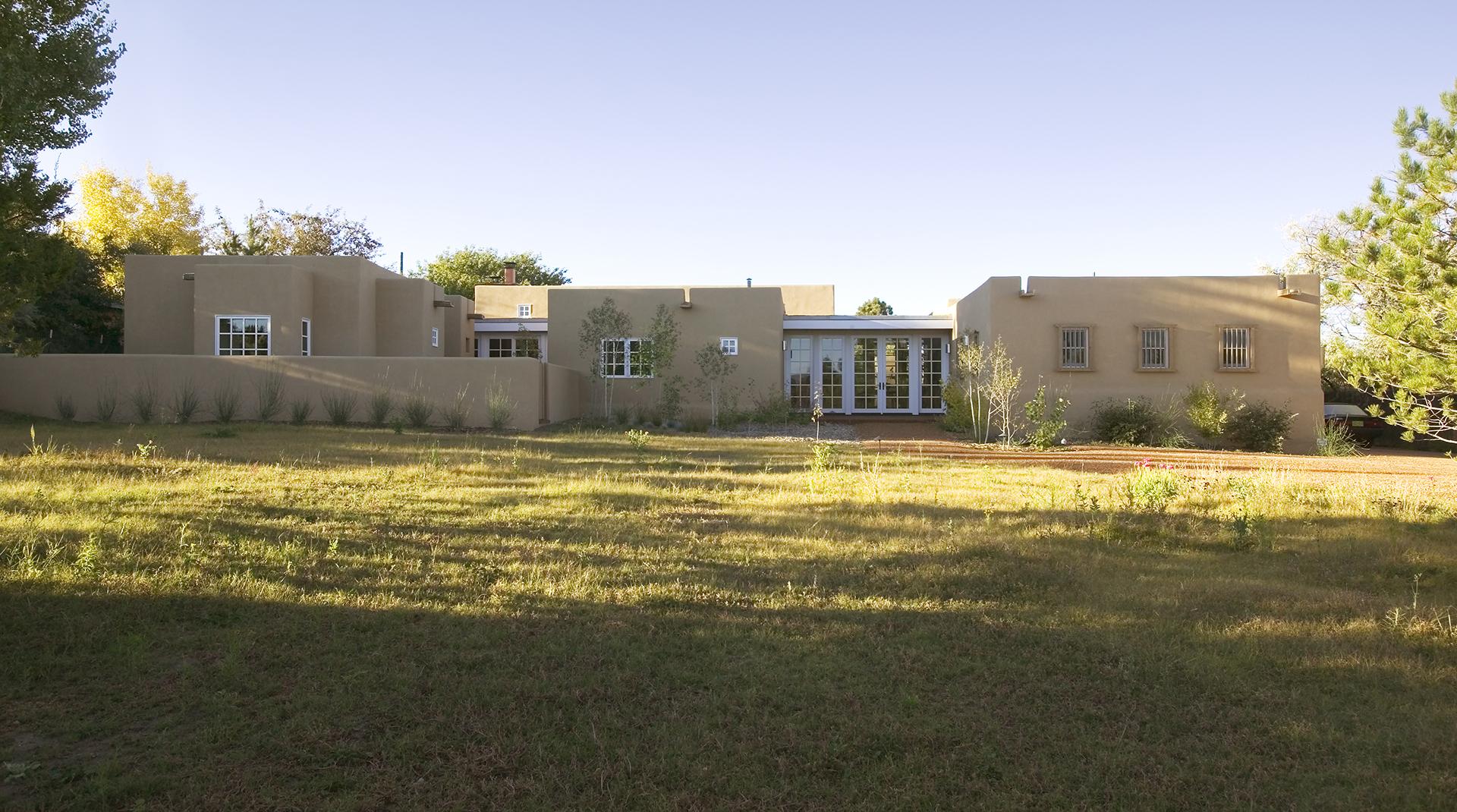 Wetzel Cameron Renovation Santa Fe New Mexico Architect Firm